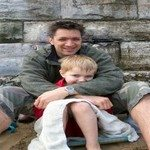 1066423_father_and_son_at_the_beach