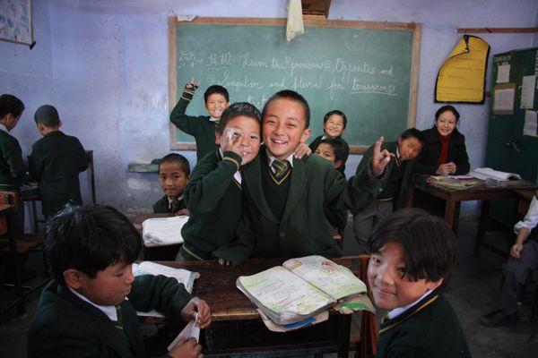 tibetske deti jsou velmi vdecne a pratelske