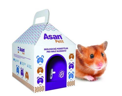 Asan Petit domeček s křečkem