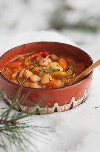 Bob Chorba (Bulgarian bean soup)