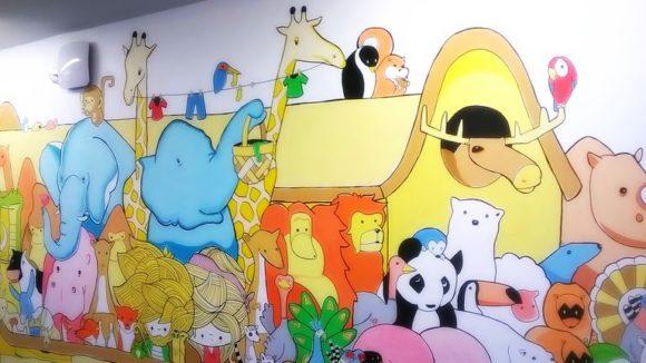 Výzdoba ve škole - Noemova archa