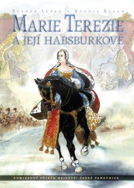 Marie terezie a její Habsburkové - obálka